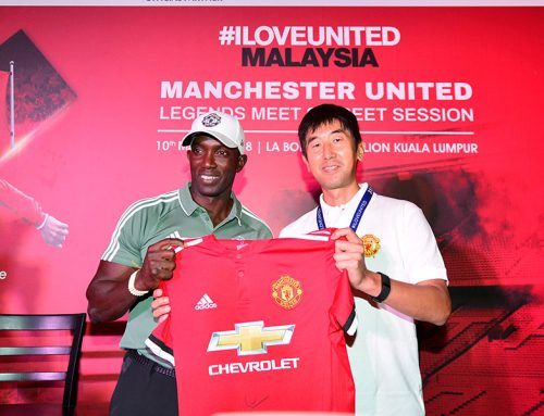 EPSON # ILOVEUNITED – MALAYSIA – Manchester United Legends (Dwight Yorke meet and greet session)